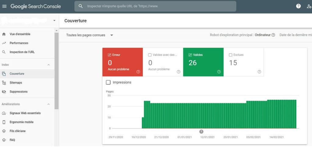 Audit technique avec Google Search Console